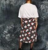 Floral 70s skirt
