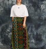 Velvet 70s maxi skirt