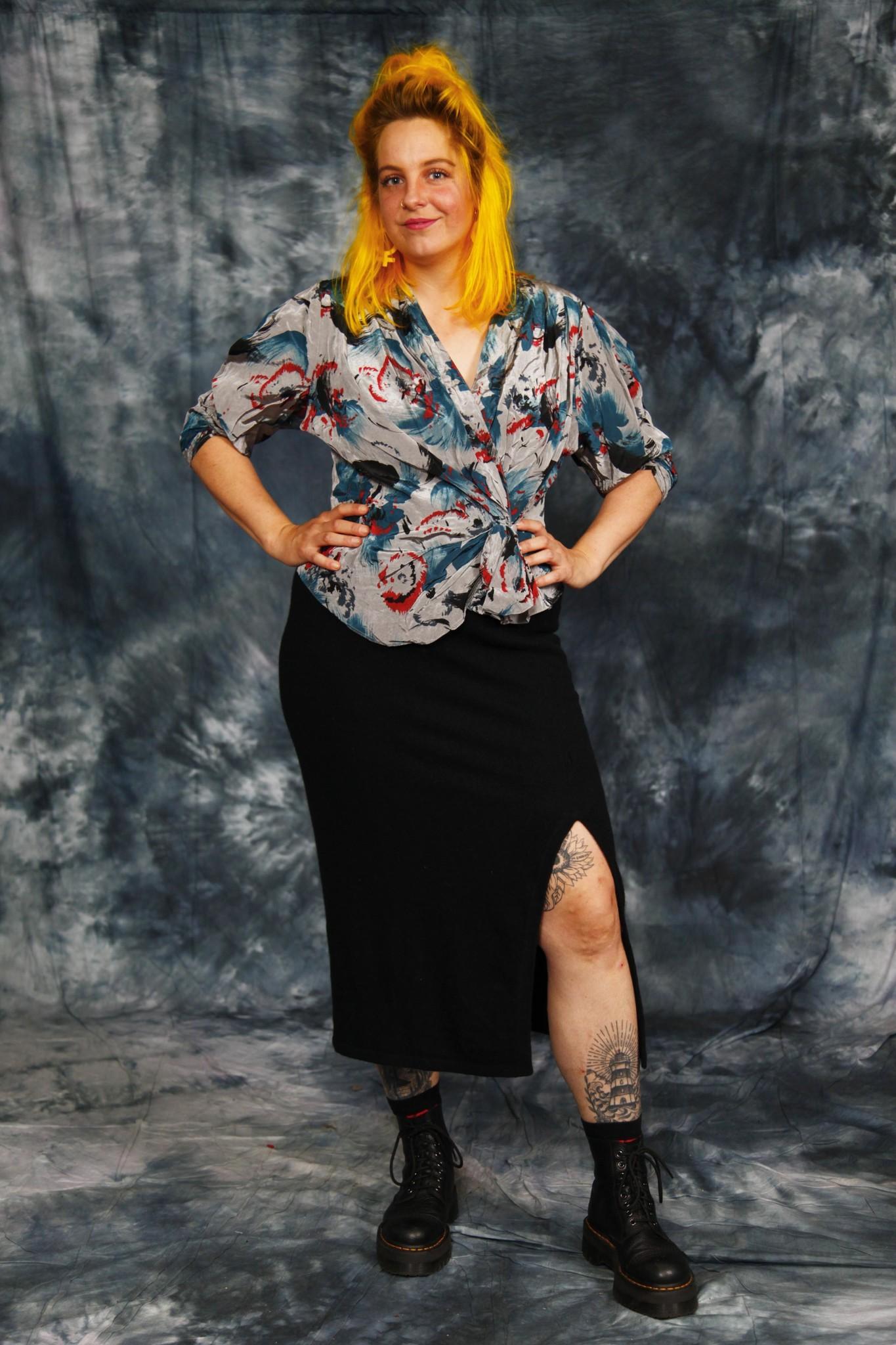 Stretchy Knit Skirt