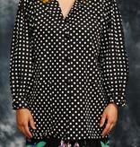 Amazing 80s polkadot jacket