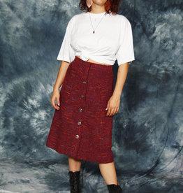 Classy 70s midi skirt