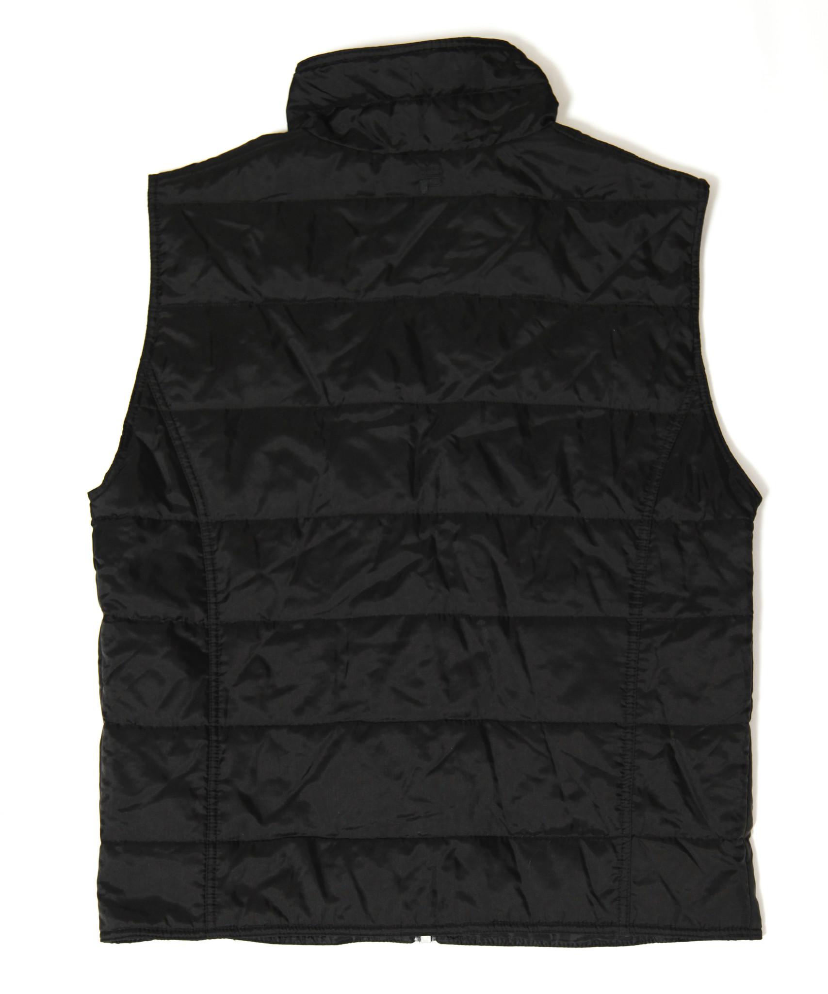 Black 90s Fila bodywarmer