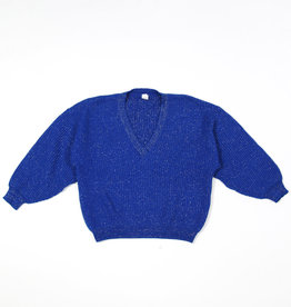 Blue silver cable jumper