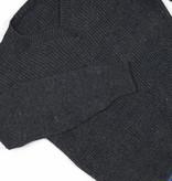 Classic grey knit jumper