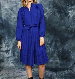 Wool 70s midi dress