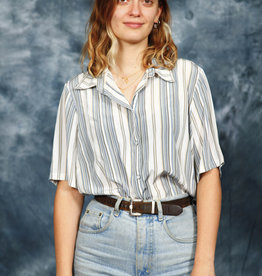 Striped 80s shirt