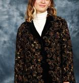 Classic 80s velvet jacket