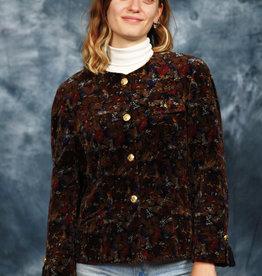 Gorgeous 80s jacket in velvet