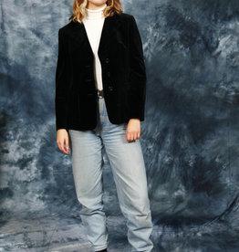 Classic 90s velvet jacket