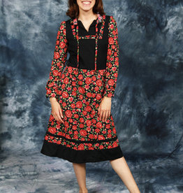 Gorgeous 70s midi dress