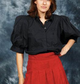Fabulous 80s blouse in black