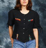 Betty Barclay 80s crop top