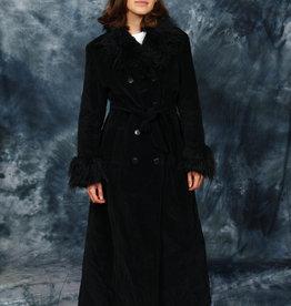 Black 90s winter coat