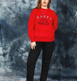Red 90s Kappa jumper