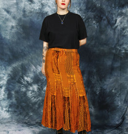Bohemian maxi skirt