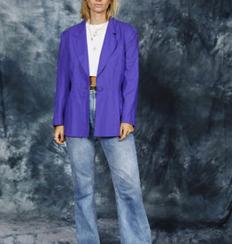 Purple 80s jacket