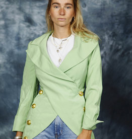 Fabulous 80s jacket in green