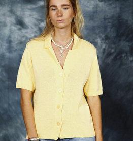 Yellow 70s cardigan