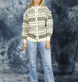Classic wool cardigan