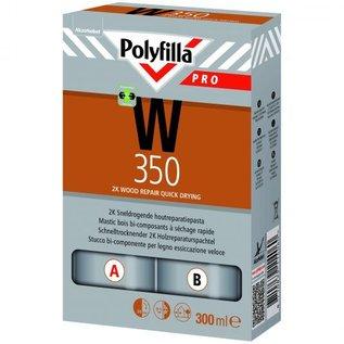 Polyfilla W350 - 2K Sneldrogende Houtreparatiepasta