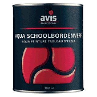 Schoolbordenverf zwart (1 liter)