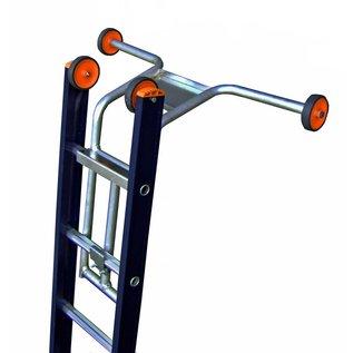 Wienese Ladderafhouder met wielen