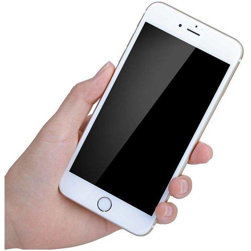Diva Apple iPhone 7 Plus  / 8 Plus Anti Blue Light Fullscreen Screenprotector - Glas - Wit