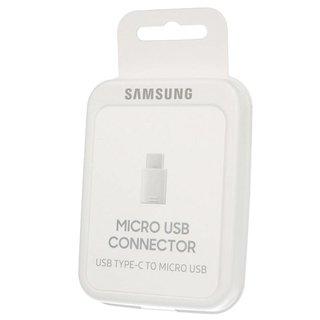 Originele Micro-USB naar Type-C Adapter - Wit