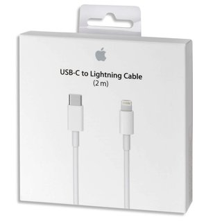 Originele USB-C/Type-C naar lightning kabel - 2 Meter