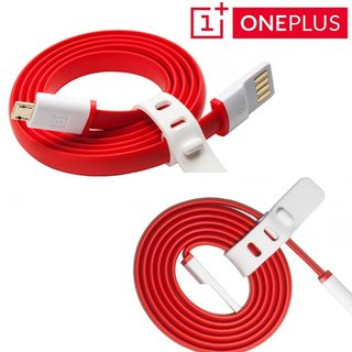 One / X Originele Micro USB data + oplaadkabel 1 Meter - Rood