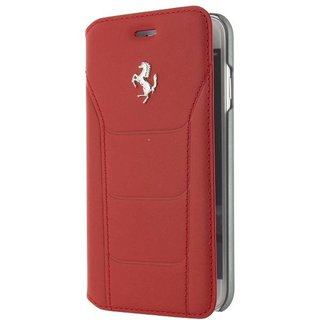 Originele Folio Bookcase Hoesje voor de Apple iPhone 7 / 8 - Rood