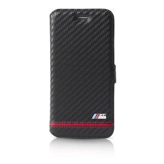 Originele Sport Carbon Effect Folio Bookcase voor de Apple iPhone 6 / 6S - Rood