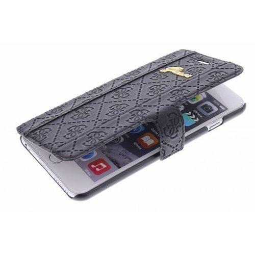 Guess Originele Scarlett Folio Bookcase hoesje voor de iPhone 6 Plus / 6S Plus - Zwart