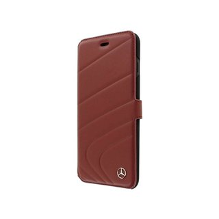 Originele Wave III Folio Bookcase voor de Apple iPhone 6 Plus / 6S Plus / 7 Plus en 8 Plus - Bordeauxrood
