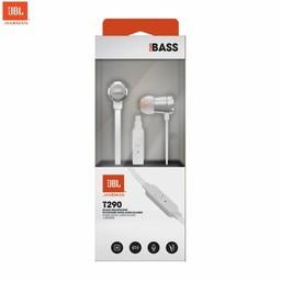 JBL Originele T290 in ear Headset - Oordopjes Zilver