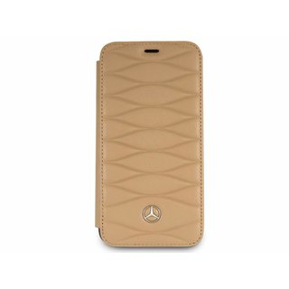 Originele Pattern III Folio Bookcase voor de Apple iPhone X / XS - Caramel Bruin