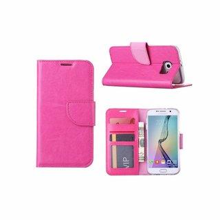 Bookcase Samsung Galaxy S6 hoesje - Roze