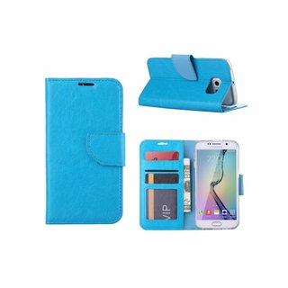 Bookcase Samsung Galaxy S6 hoesje - Blauw