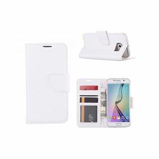 Bookcase Samsung Galaxy S6 hoesje - Wit