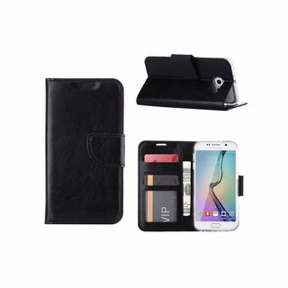 Bookcase Samsung Galaxy S6 hoesje - Zwart
