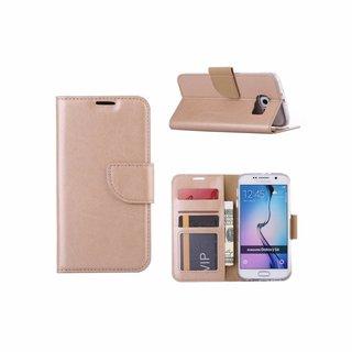 Bookcase Samsung Galaxy S6 hoesje - Goud