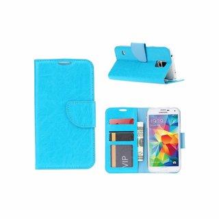 Bookcase Samsung Galaxy S5 hoesje - Blauw