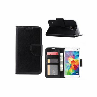 Bookcase Samsung Galaxy S5 hoesje - Zwart