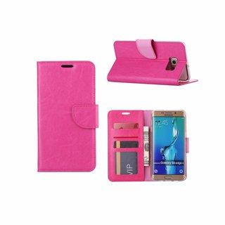 Bookcase Samsung Galaxy S6 Edge Plus hoesje - Roze
