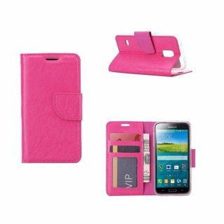 Bookcase Samsung Galaxy S5 Mini hoesje - Roze