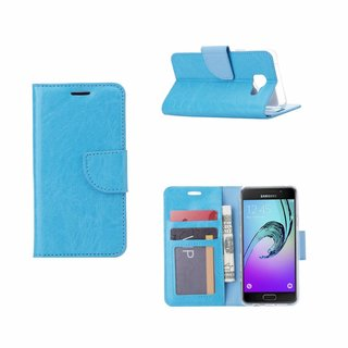 Bookcase Samsung Galaxy A3 (2016) hoesje - Blauw