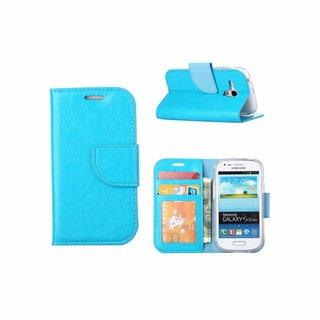 Bookcase Samsung Galaxy S3 Mini hoesje - Blauw