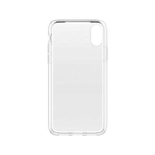 Apple iPhone X siliconen (gel) achterkant hoesje - Transparant