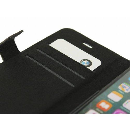 BMW Originele Hexagon Folio Bookcase Hoesje voor de Apple iPhone X / XS - Zwart