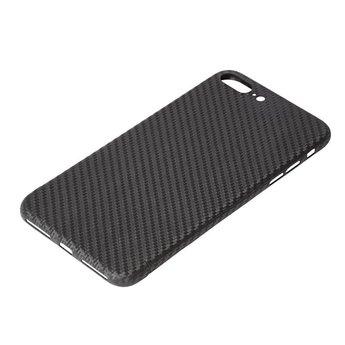Nevox Originele Carbon Back Cover Hoesje voor de iPhone 7 Plus - Zwart